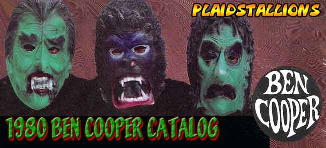 1980 Ben Cooper Catalog