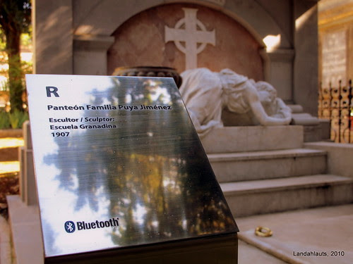 Bluetooth en el Cementerio de Granada