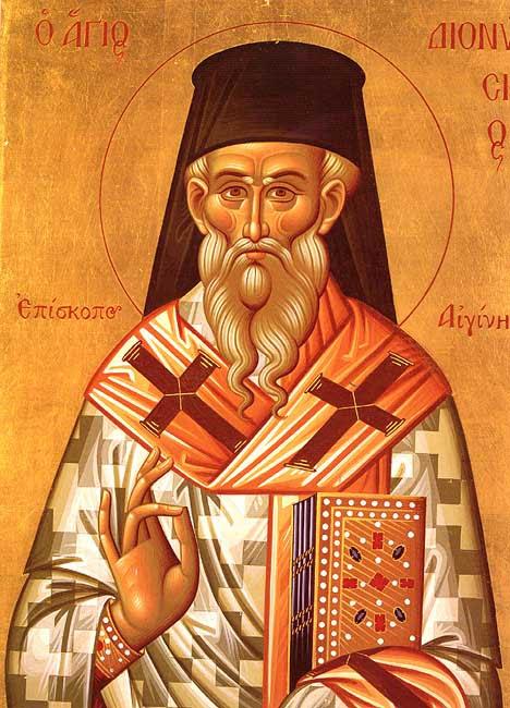 IMG ST. DIONYSIUS of Zakynthos, Archbishop of Aegina