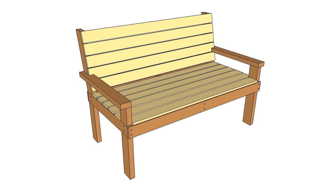 Outdoor Wooden Bench Plans Modern Home Exteriors