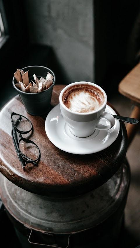 خلفية للستوريات بدقة عالية قهوة من نظارات hd