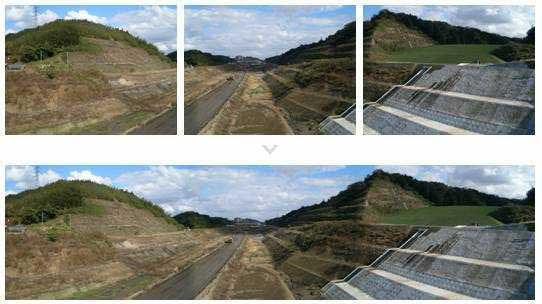 複数画像をドロップするだけで簡単にパノラマ画像が作れる  - パノラマ写真 合成