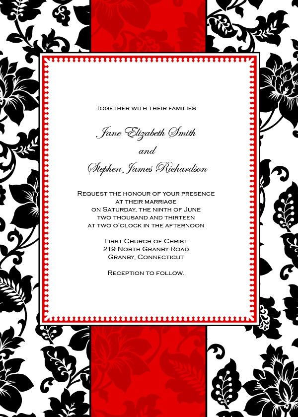 1000+ images about FREE PRINTABLE WEDDING INVITATIONS! on ...
