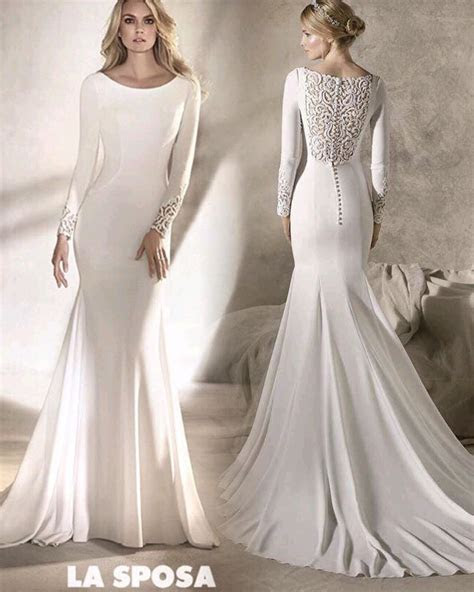 La sposa by pronovias fashion group long sleeved 2017