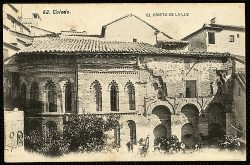 Mezquita del Cristo de la Luz (Toledo), hacia 1895. Foto Lacoste