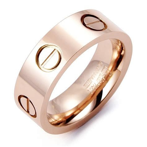 Cartier Love Ring in Rose Gold   Wishlist   Pinterest