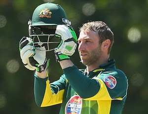 Phil Hughes críquete Austrália (Foto: Getty Images)