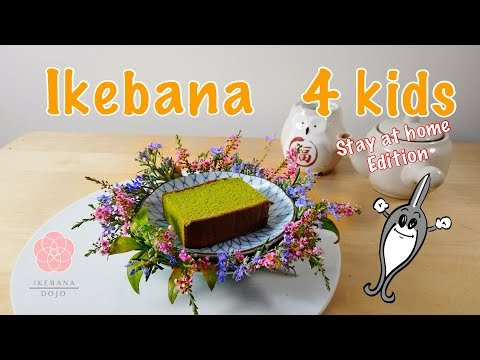 Ikebana 4 Kids: Dress up your plates!
