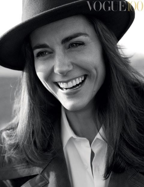 HRH The Duchess of Cambridge covers British Vogue.