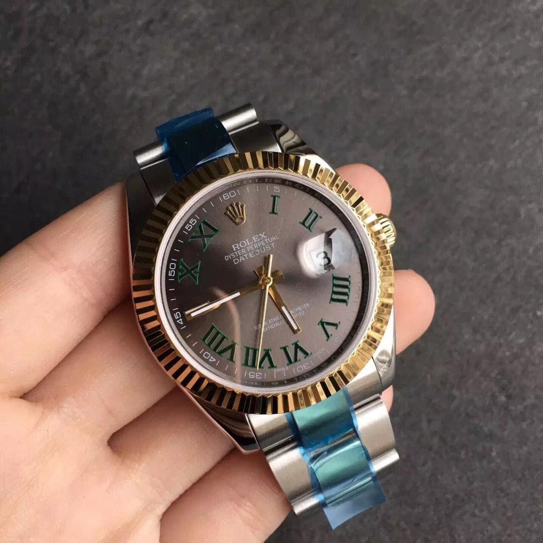 Rolex Datejust II 116333 Grey Dial