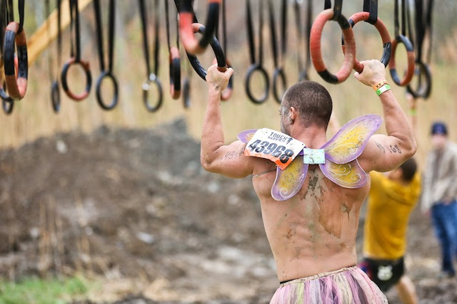 Epic Ring Failure Tough Mudder Hangin Tough Obstacle Cube Dweller Fitness