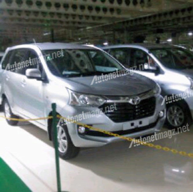 New Avanza 2015 facelift baru