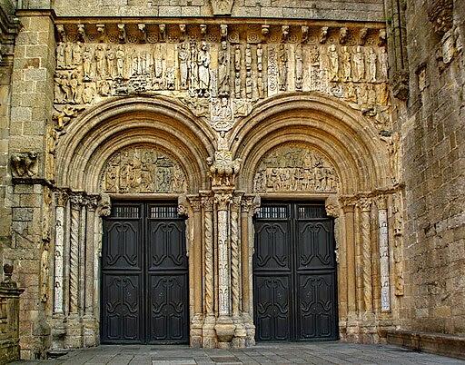 SantiagoCompostela-PortaPlaterias-bis