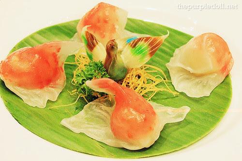 Lobster and Asparagus Dumpling