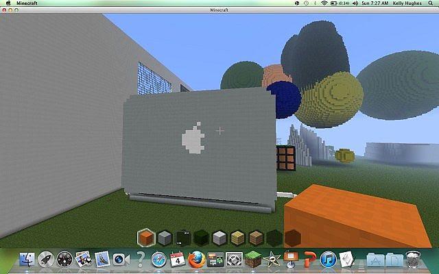 macbook pro osx! Minecraft Project