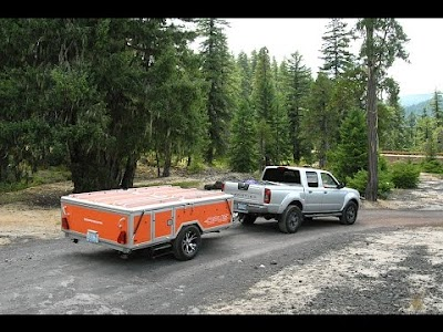 Rollin' on TV: OPUS Camping Trailer & Ice Castle Fish House Trailer