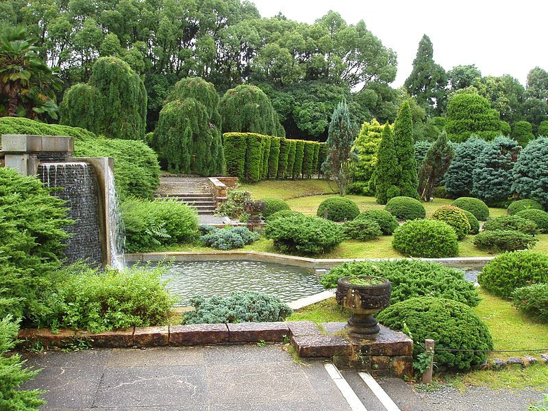 File:Kyoto Botanical Garden - sunken garden.JPG