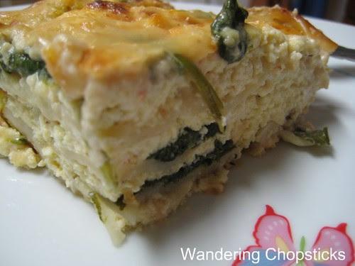 Lasagna with Feta Cheese, Spinach, and Tofu 2
