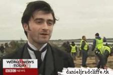 BBC News: The Woman in Black filming Marsh scenes