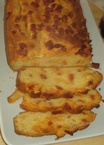Cake Sal Ef Bf Bd Chorizo Tomates S Ef Bf Bdch Ef Bf Bdes