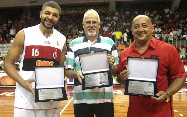 Homenagem, NBB, Flamengo e Brasilia  (Foto: Fernando Azevedo / FlaImagem)