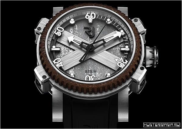 Необычные и дорогие часы Romain Jerome Titanic-DNA Octopus