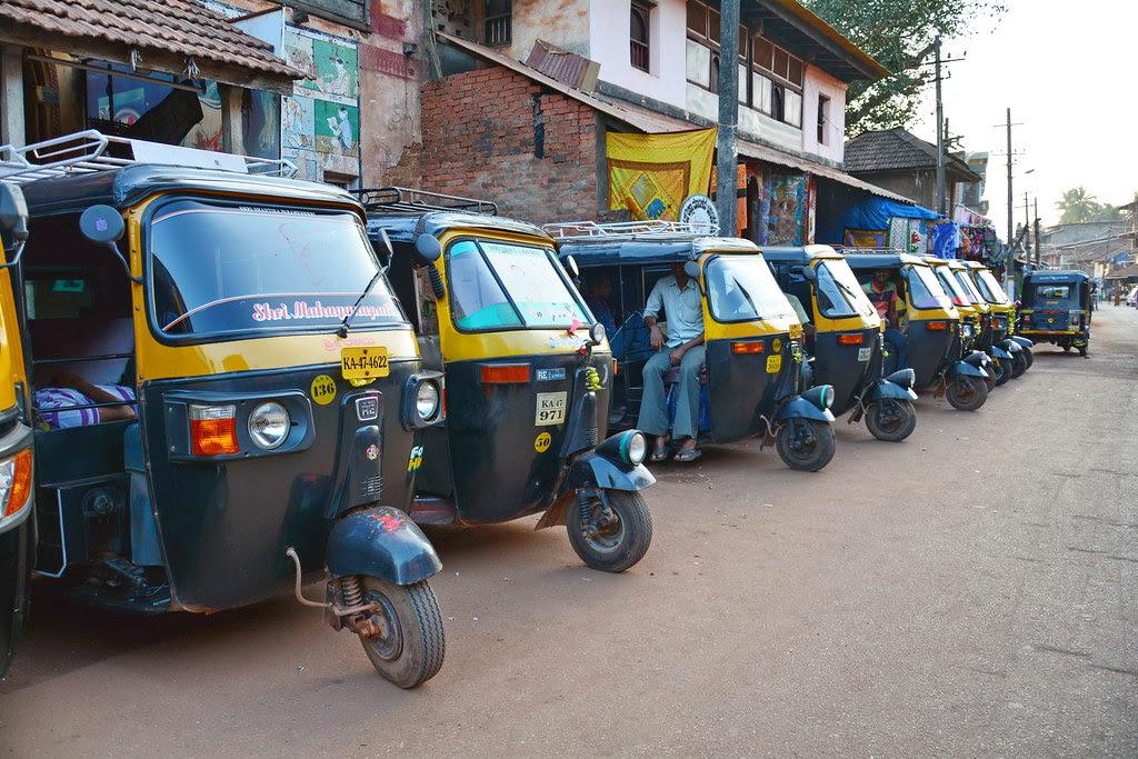 India Karnataka Gokarna Auto Rickshaw 3 Auto