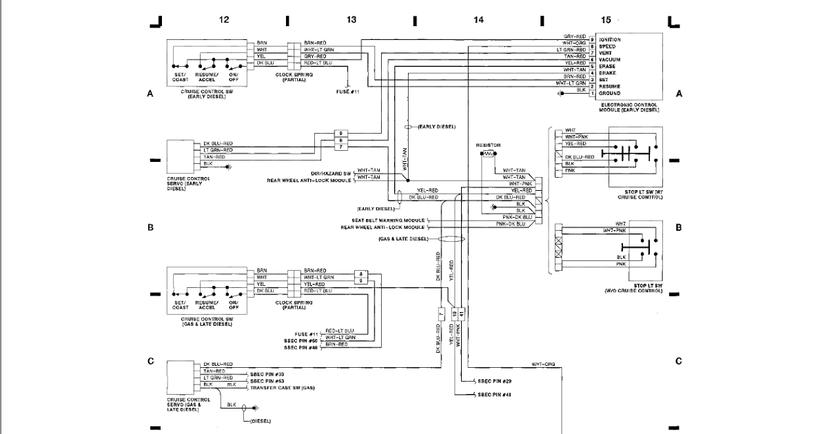 1991 Dodge W250 Wiring Diagram