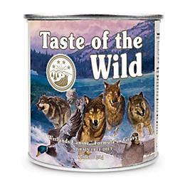 taste   wild wetlands canned dog food  pack dogcom
