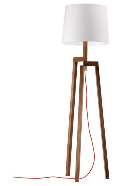 Classic Shape Gives Floor Lamps a Light New Silhouette