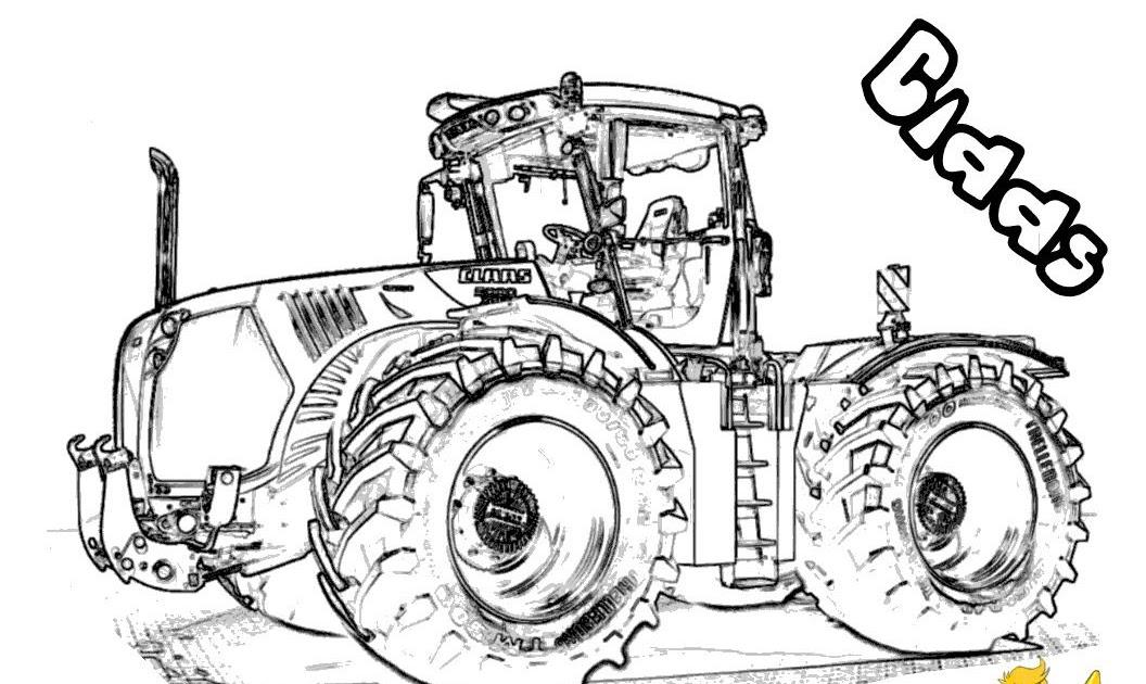 traktor ausmalbilder  ausmalbilder traktor 23
