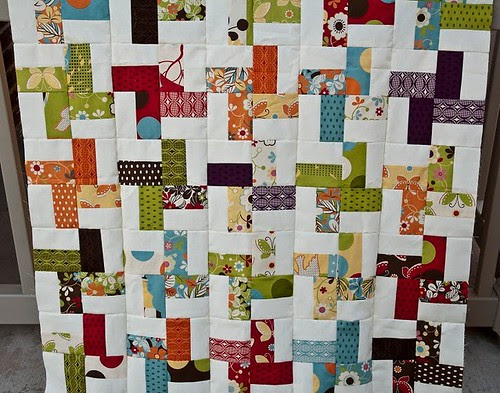 patching up quilt top
