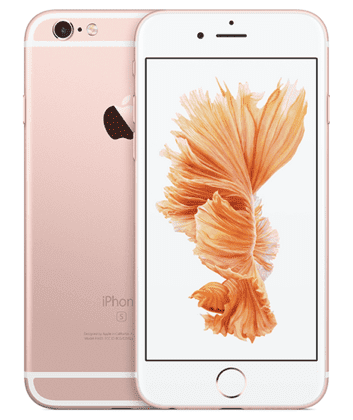 iPhone 6s in Rose Gold Pink for 2015 - 2016