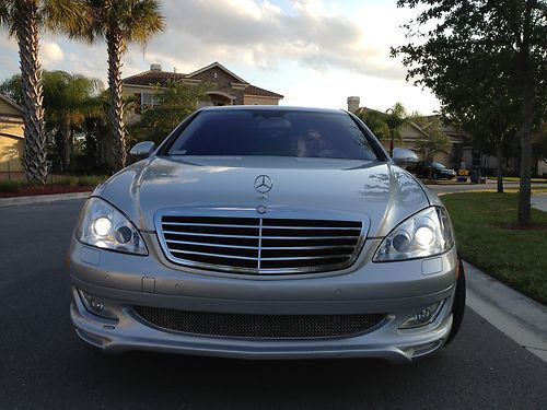 Purchase used 2007 MERCEDESBENZ SCLASS S550 CARLSSON CK50 EDITION Rare, WARRANTY 6\/2014, BLK