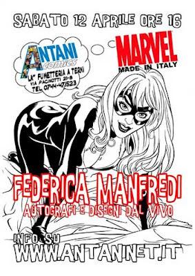 Federica Manfredi da Antani Comics