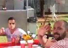 Trio africano promete ir a todas as Copas (Eduardo Carvalho/G1)