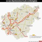 Sécurité routière - Quelles sont les routes de Corrèze considérées comme les plus dangereuses ?