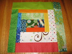 Block for group quilt