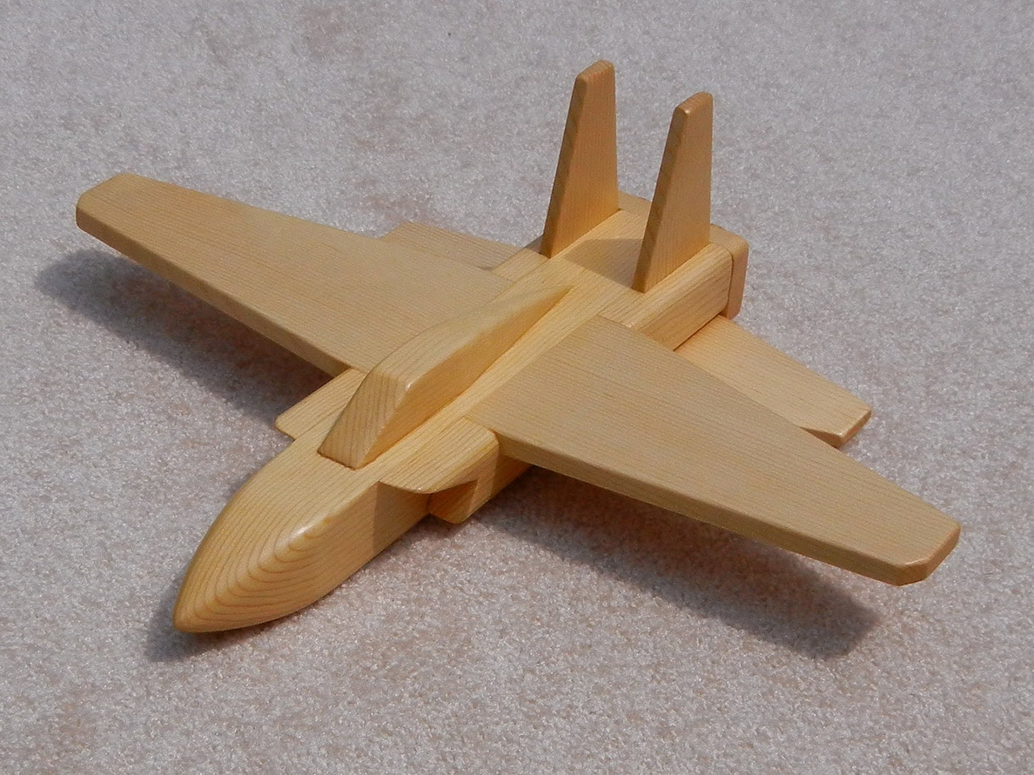 wooden toy jet planes