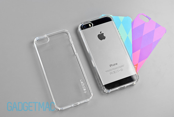 Spigen Ultra Fit Crystal Shell Clear Ultra Hybrid Iphone 5s Cases
