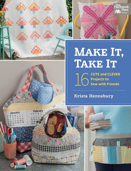 she can quilt: Make It, Take It, blog hop and giveaway