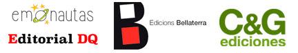 logo nuevas editoriales en distribución