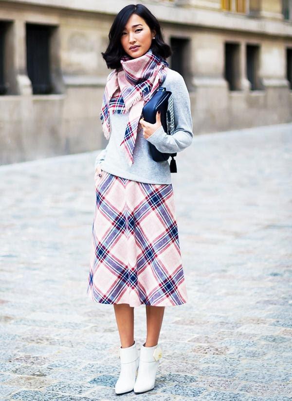 Who: Nicole Warne ofGary Pepper Girl When/Where: Paris Fashion Week, F/W 14