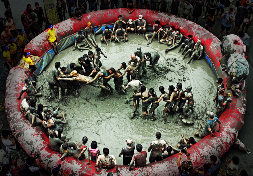 Beryeong Mud Festival (South Korea)