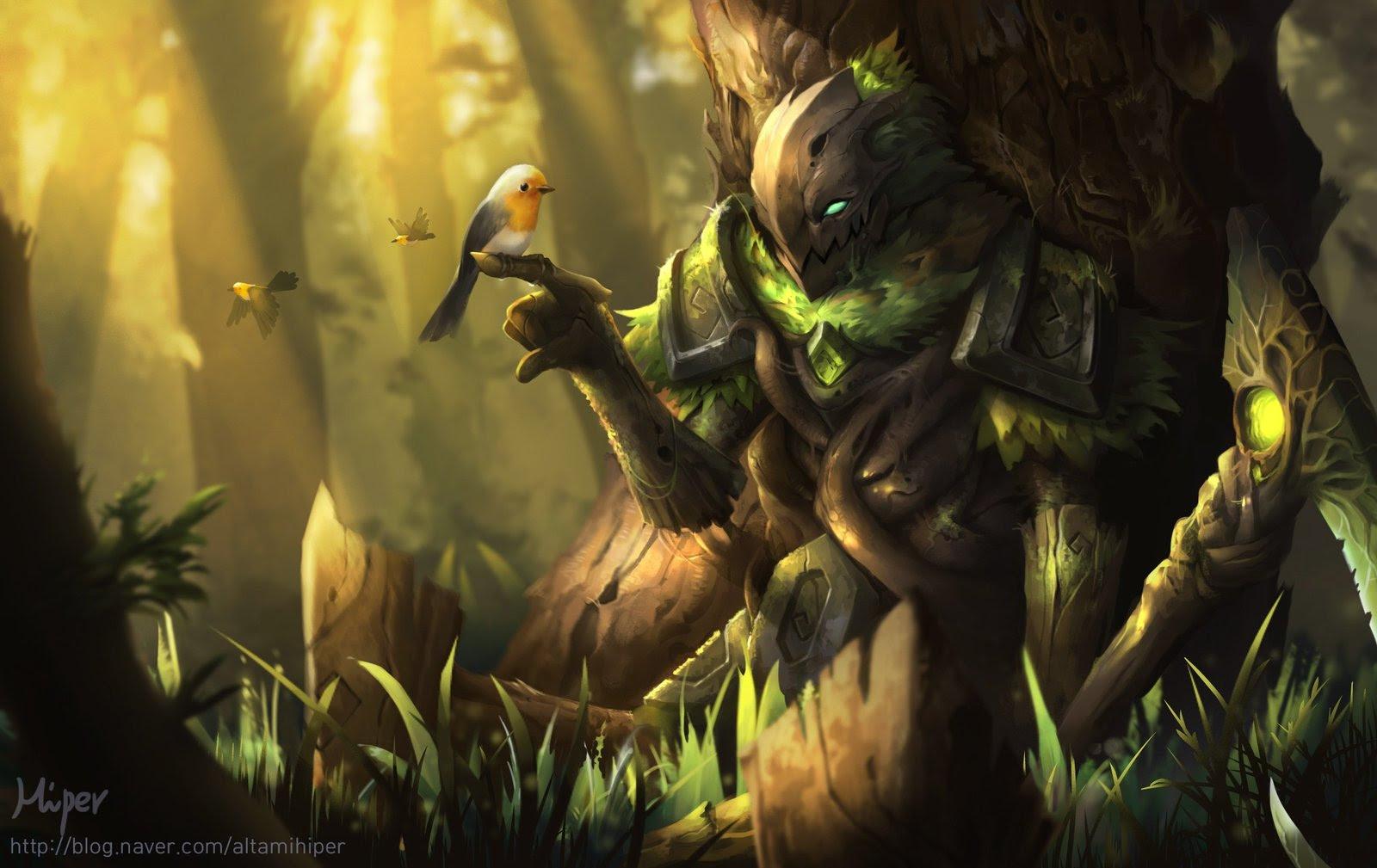 Elderwood Fiddlesticks Wallpapers Fan Arts League Of Legends
