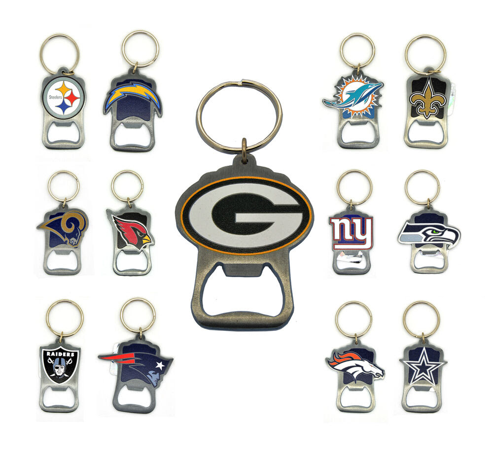 NFL Officially Licensed Bottle Opener keychain  eBay
