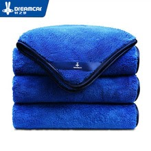 1pc Microfiber  Car Care Polishing Wash  Plush Washing Drying Towel