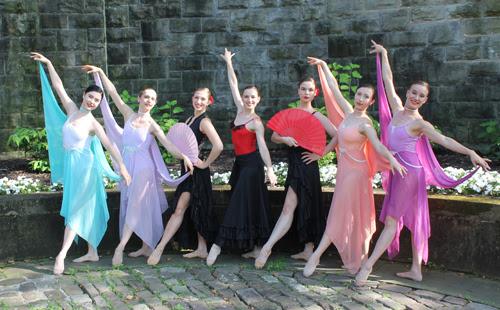 Cleveland Ballet ladies