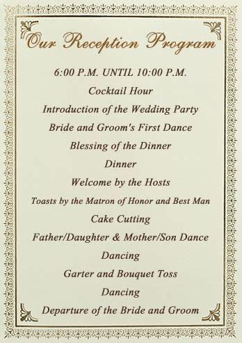Stationery Checklist for a Wedding