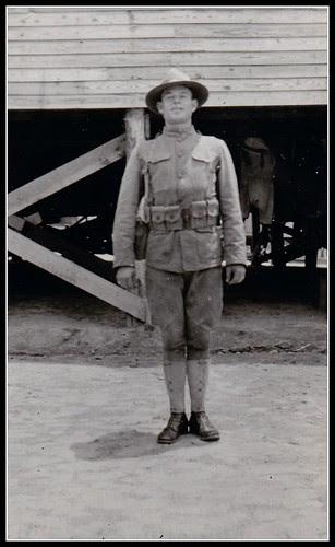 World War I American Soldier in Uniform